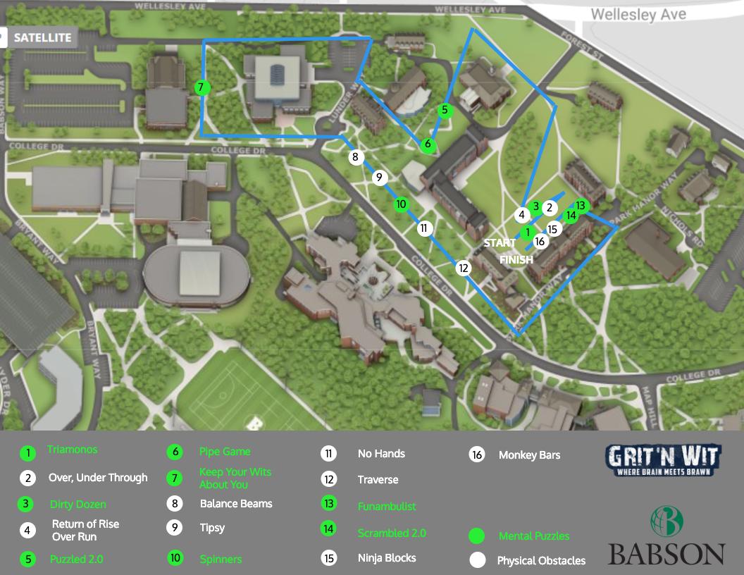 Babson College April 2019 Grit N Wit Challenge